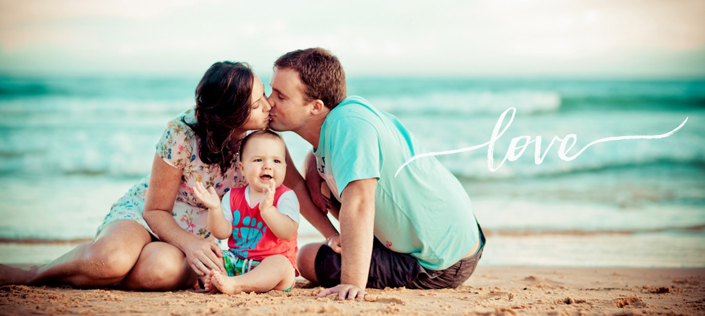 Family Photography on Beach