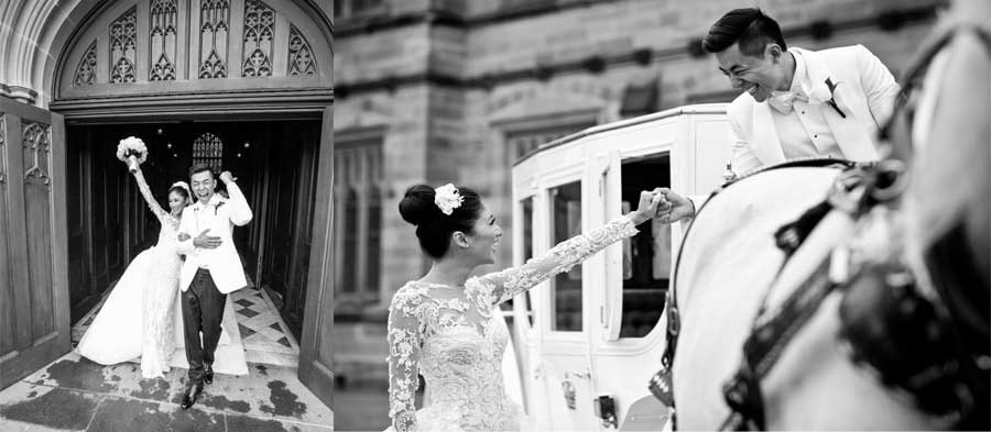 Wedding Couple Photography Black And White