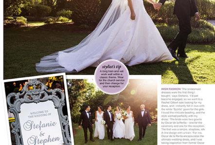 Oscar de Larenta Wedding - An Oatlands house wedding