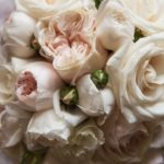 professional photo of wedding flowers