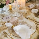 photo of sydney wedding reception plates
